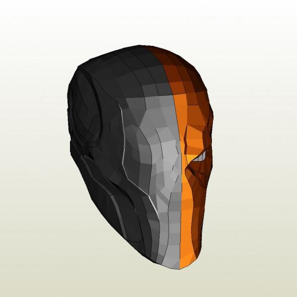 deathstroke armor template - deathstroke pepakura