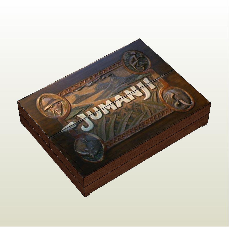 papercraft  pdo file template for jumanji