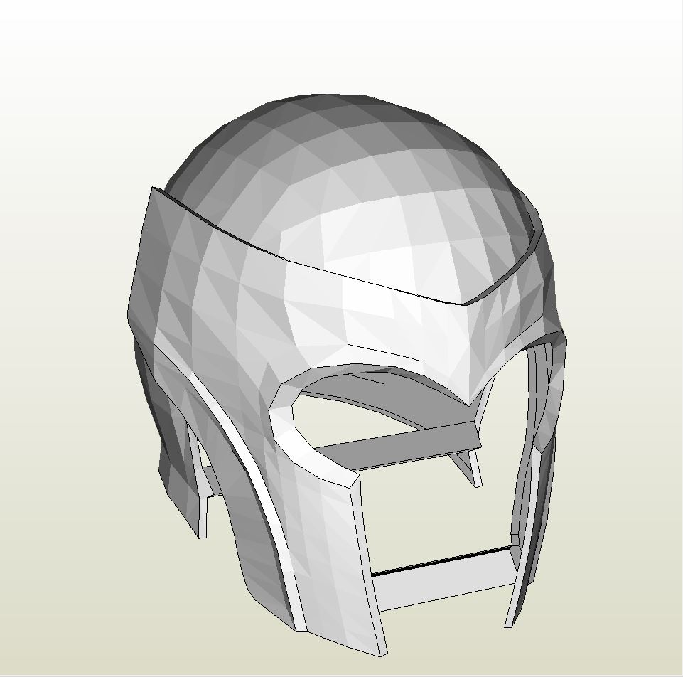 Papercraft .pdo File Template For X-Men