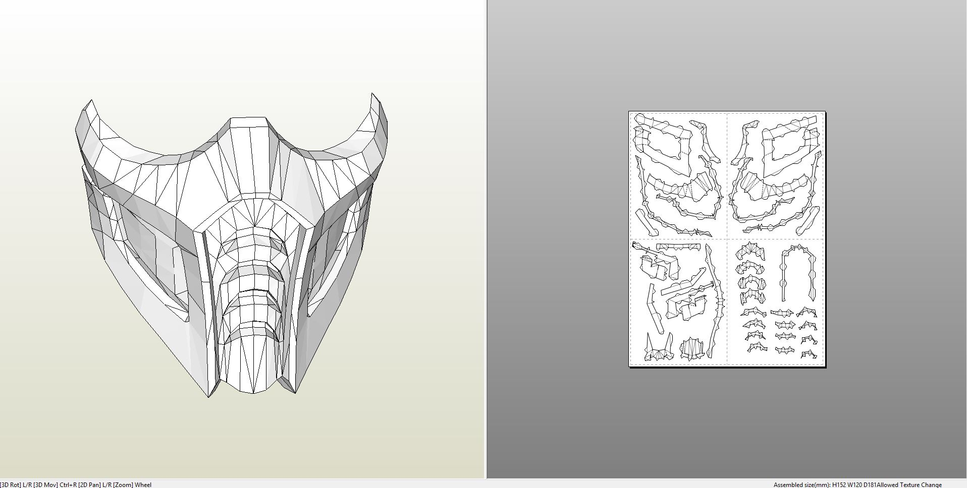 22 images of sub-zero mask template paper | netpei. Com.