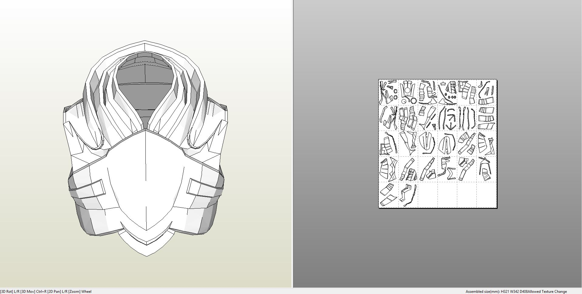 Papercraft Pdo File Template For Mass Effect Blood Dragon Armor Chest See more ideas about art, armor, fantasy art. papercraft pdo file template for mass