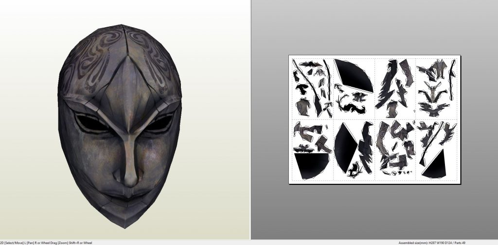femaletribunalmask