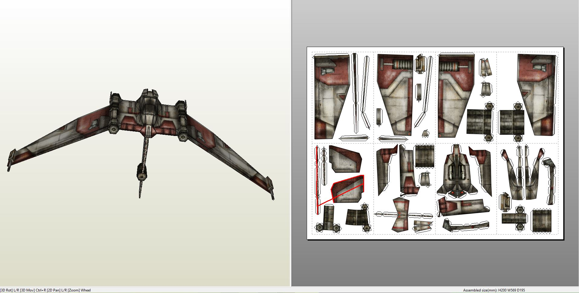 Papercraft pdo file template for star wars v19 torrent v19torrent pronofoot35fo Gallery
