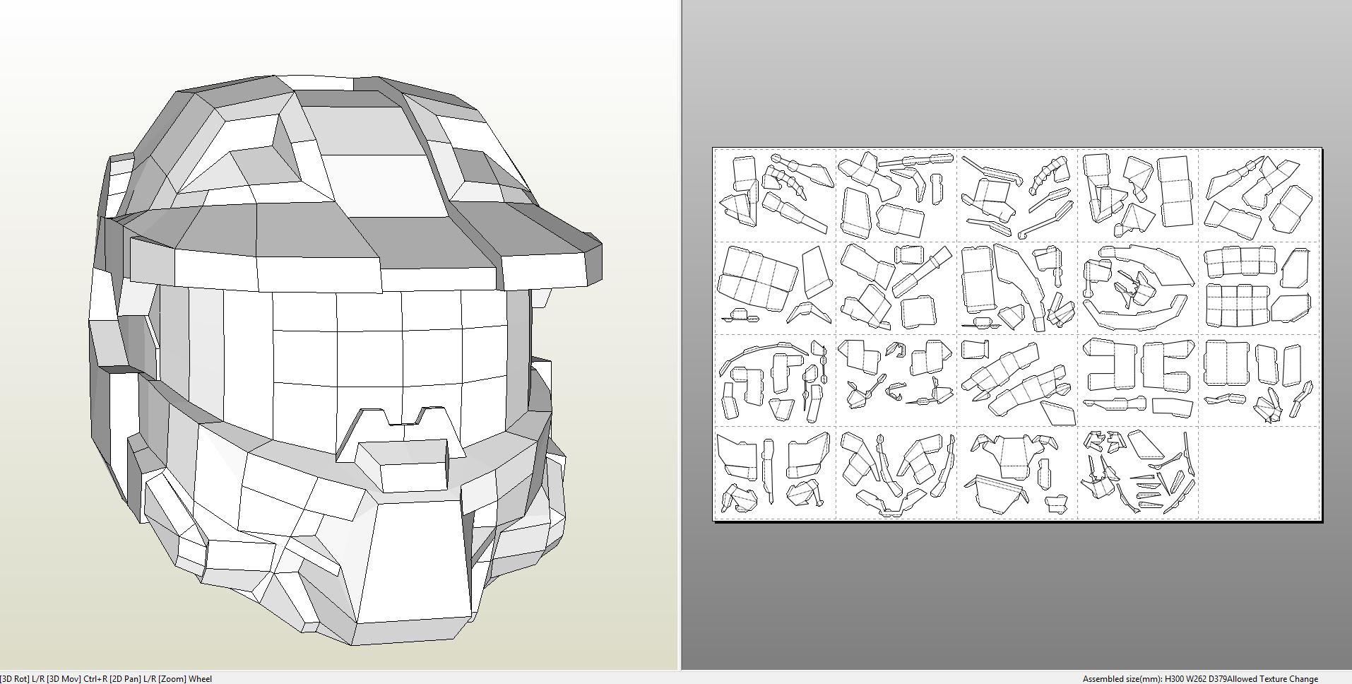 Foamcraft .pdo file template for Halo 4 - Forward Unto ...