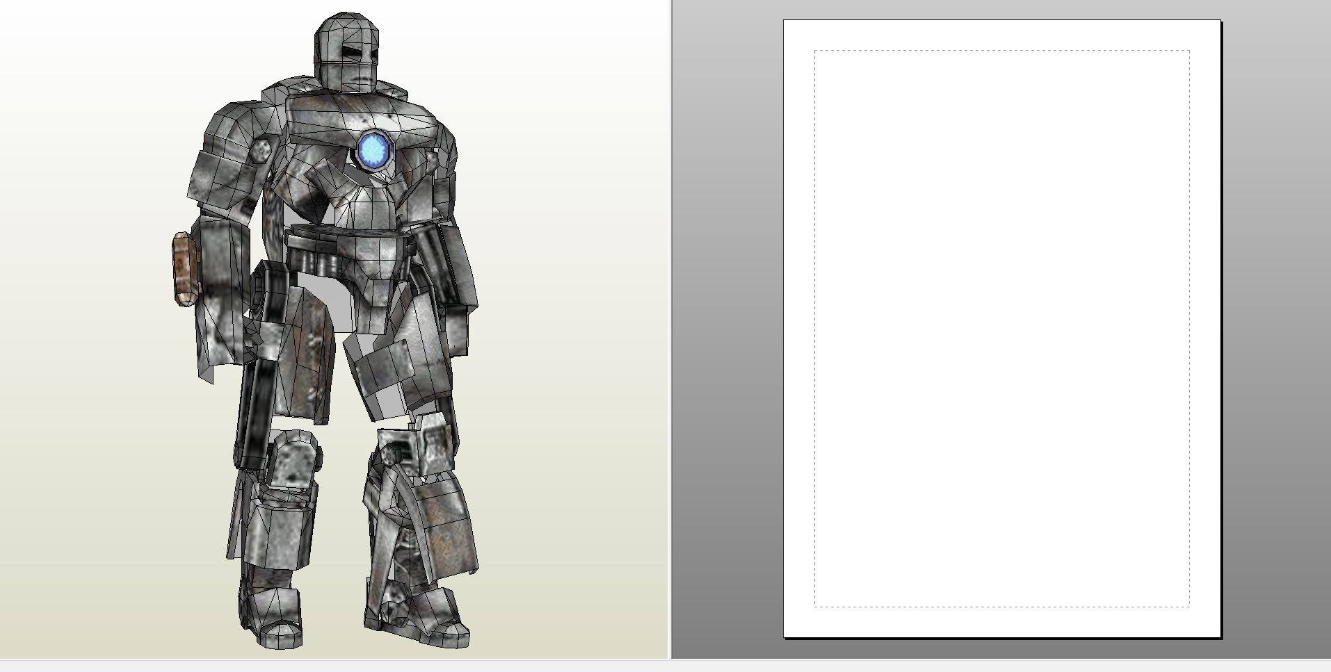 Foamcraft pdo file template for iron man mark 1 foam for Iron man foam armor templates