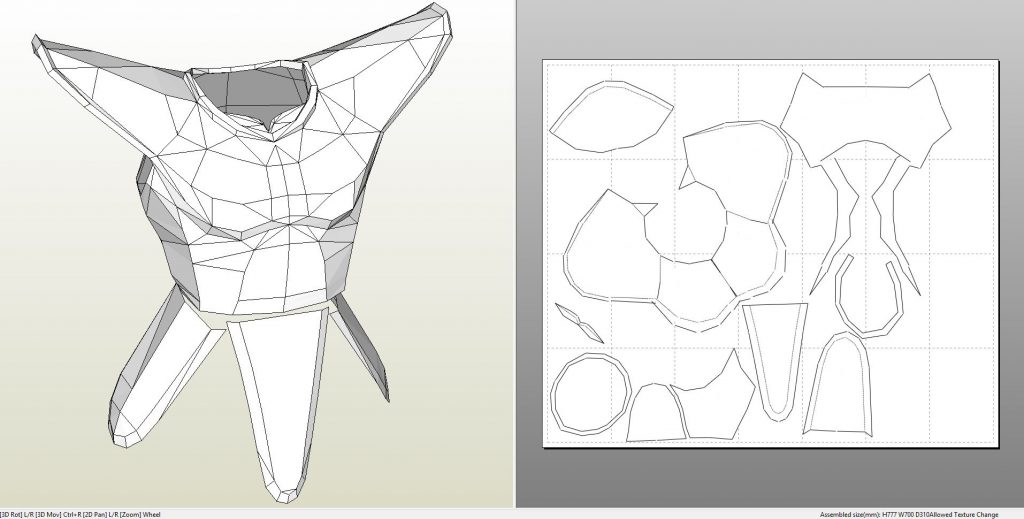 Armor Templates | Foamcraft Pdo File Template For Dragonball Saiyan Armor Raditz