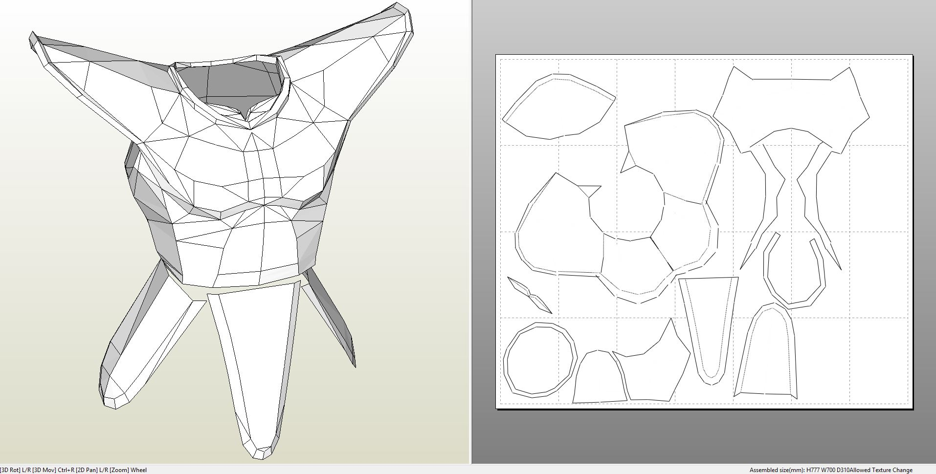 Foamcraft pdo file template for dragonball saiyan armor for Iron man foam armor templates