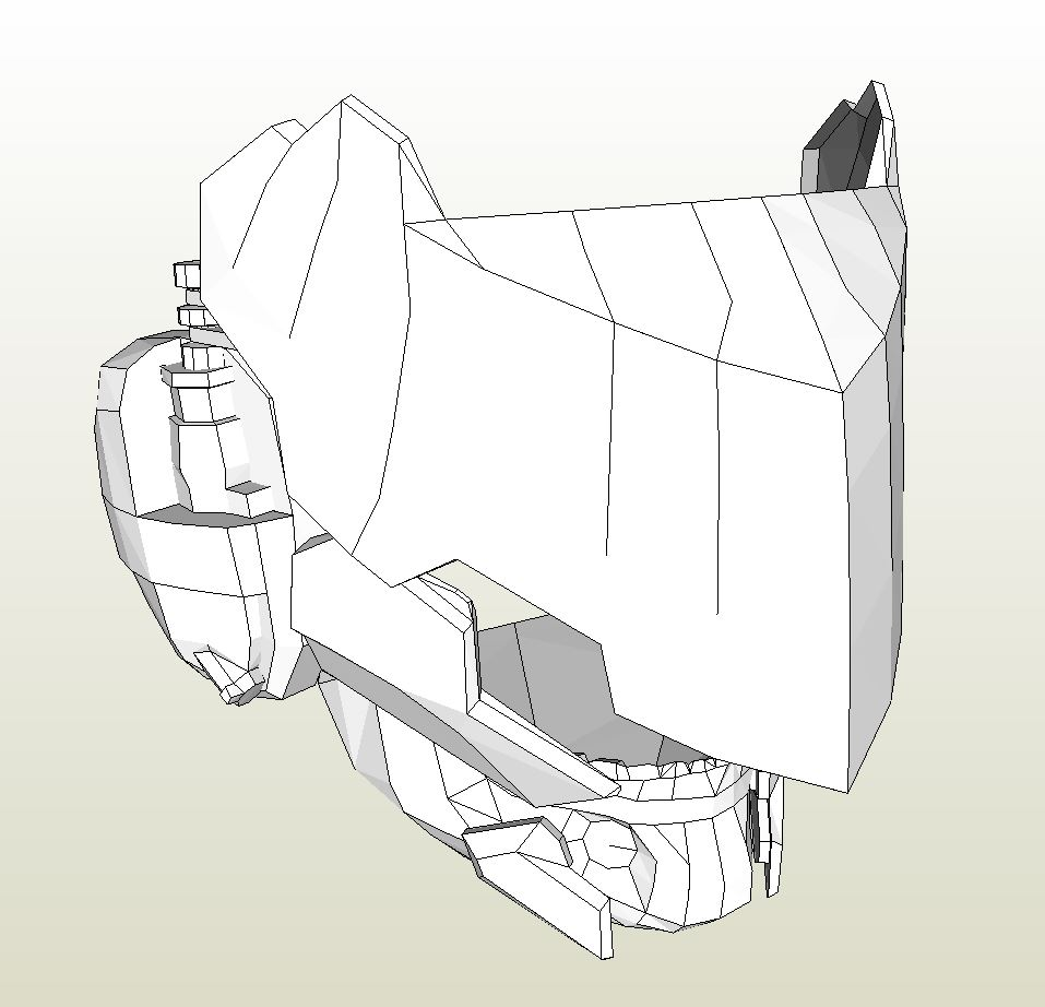Papercraft Pdo File Template For Metal Gear Solid