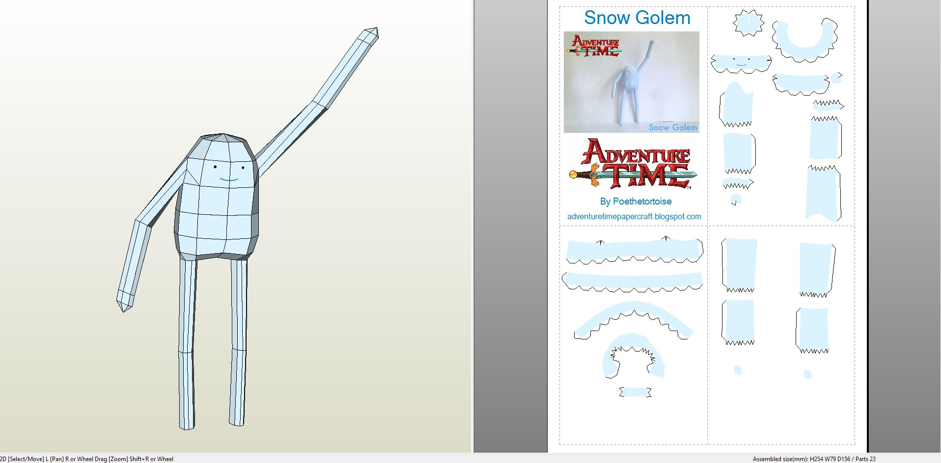 adventuretimesnowgolem