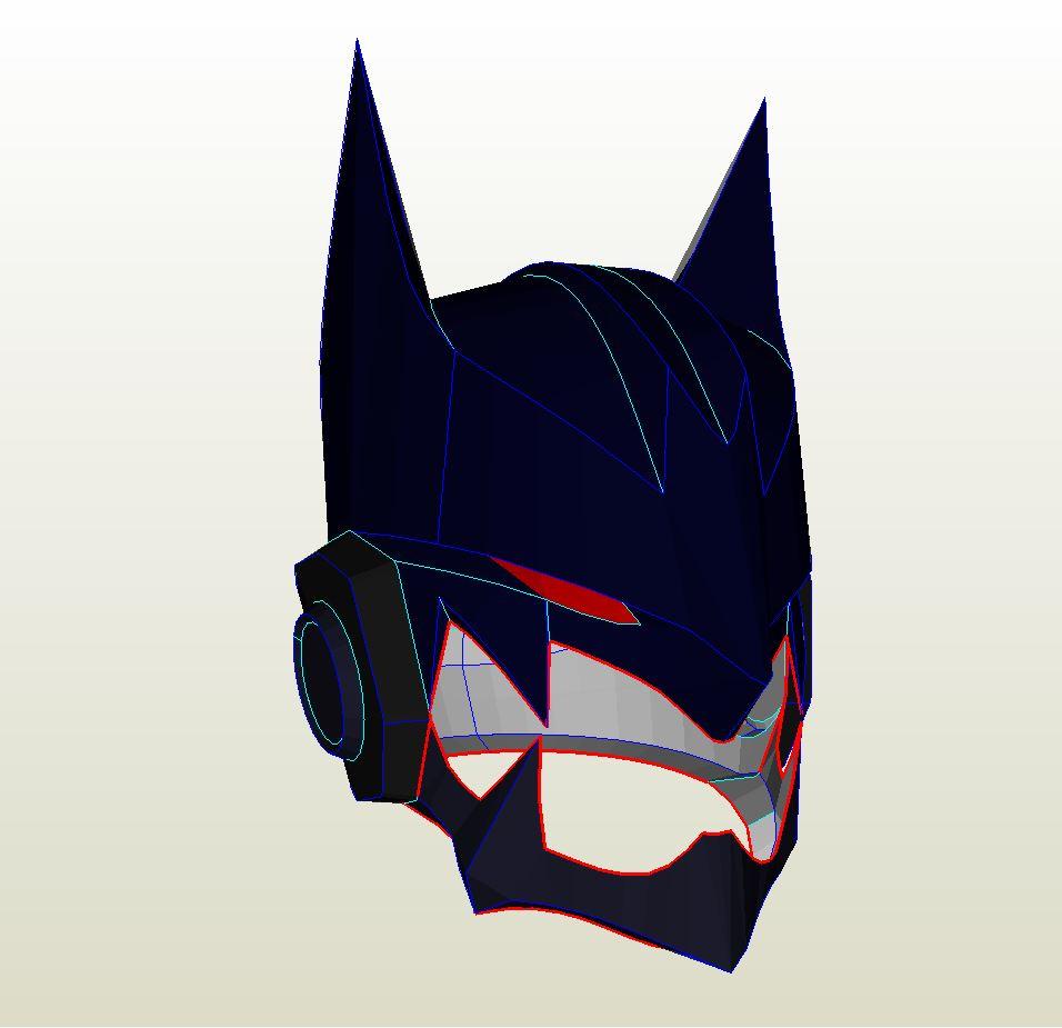 Order a paper mask of batman