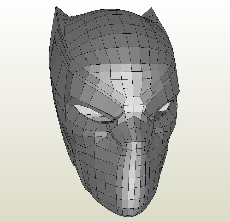 black panther marvel mask animal kid
