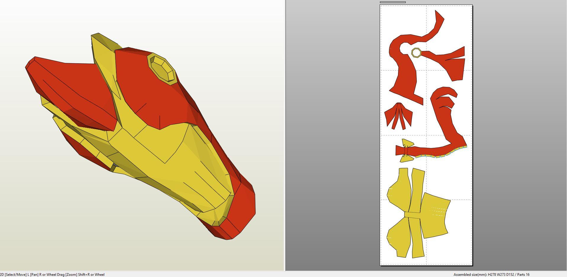 iron man foam armor templates - iron man extremis armor foam