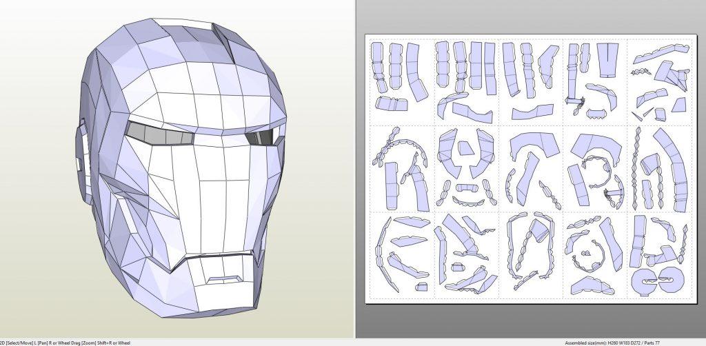 ironmanmark2paperhelmet