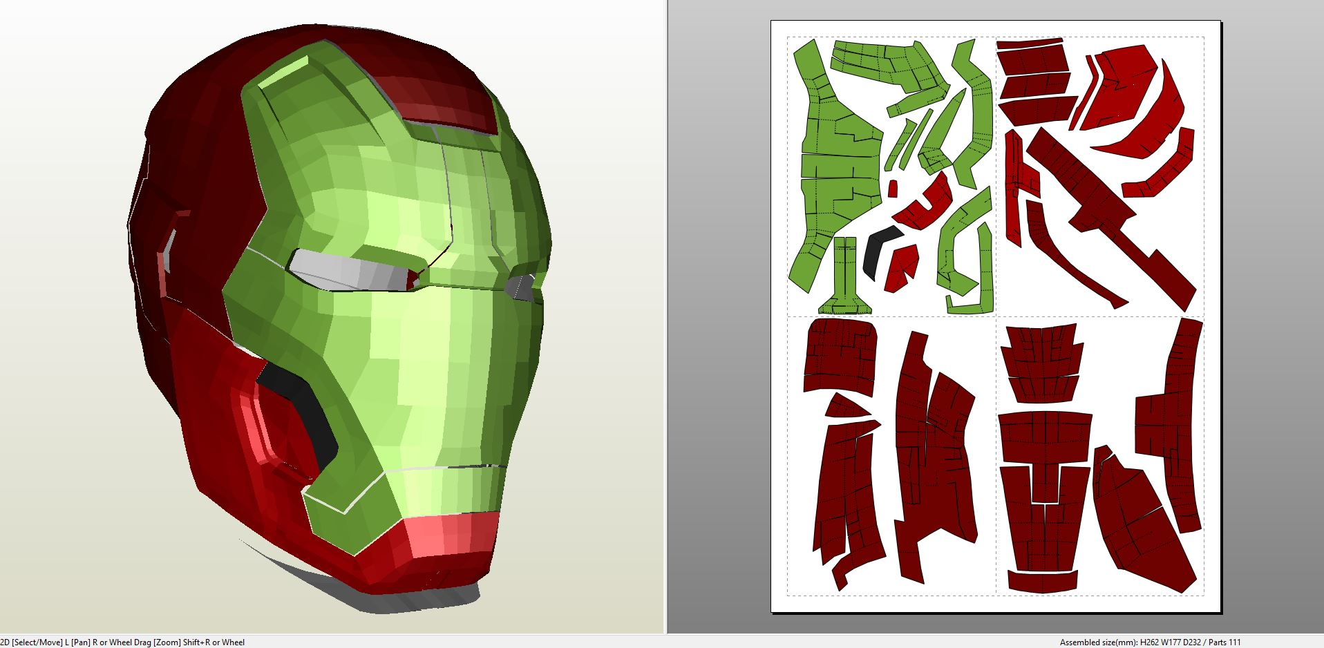 iron man foam armor templates - iron man mark 8 full armor foam