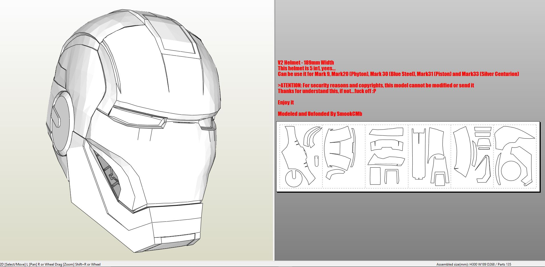 iron man foam armor templates - iron man mark 9 full armor foam