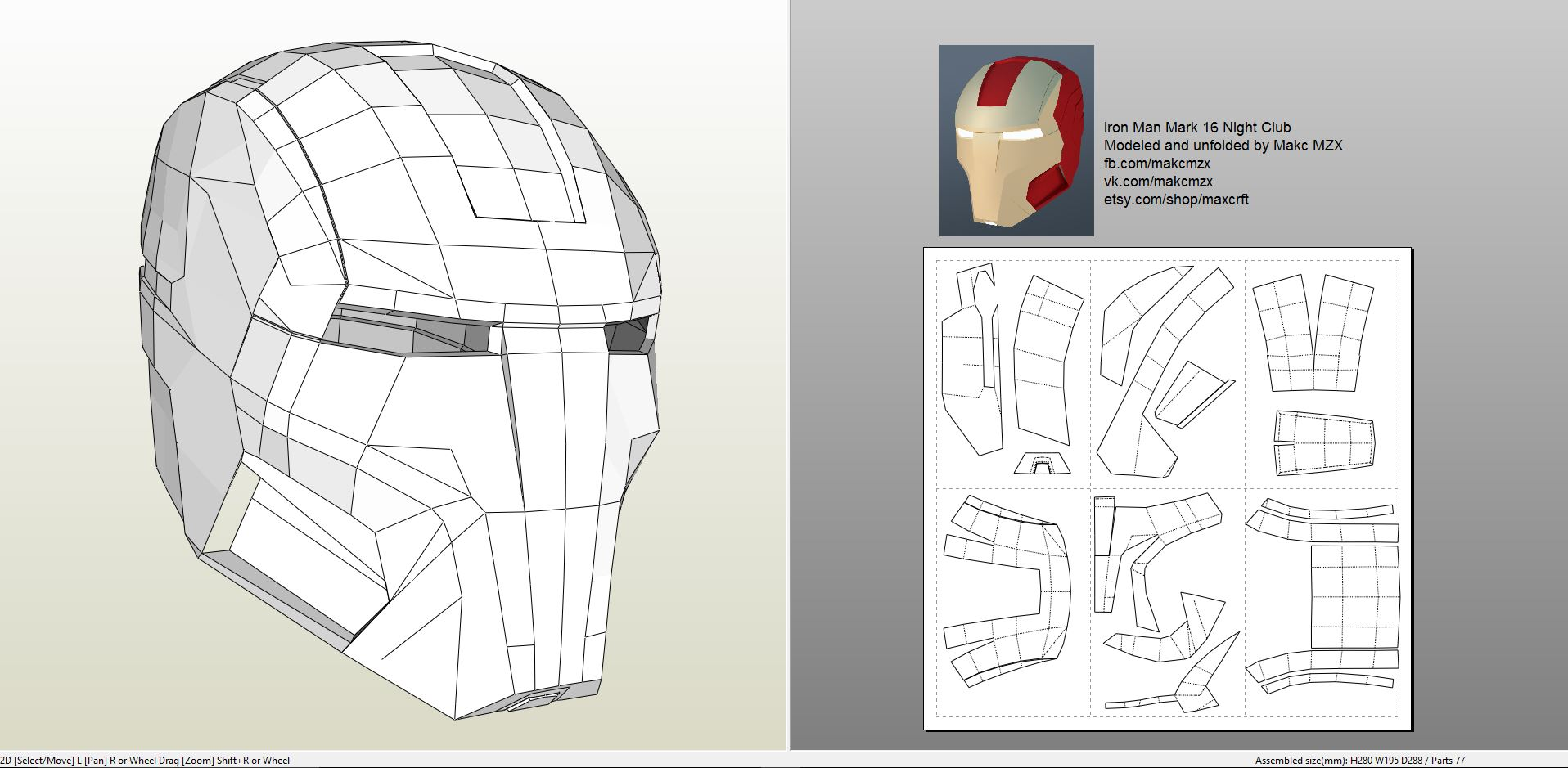 iron man suit template - iron man mark 16 helmet foam