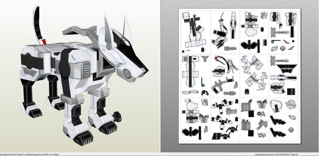 powerrangersricroboticdog