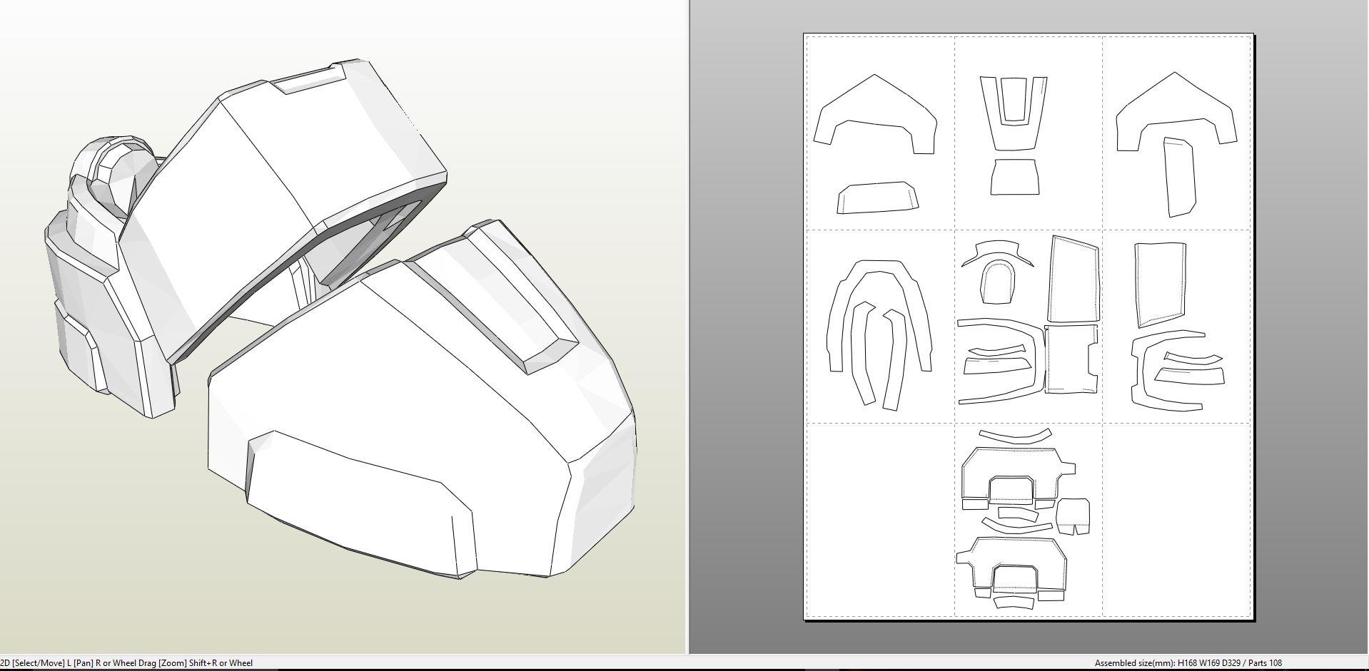 Halo 5 – Mark IV Armor +FOAM+ – Pepakura eu